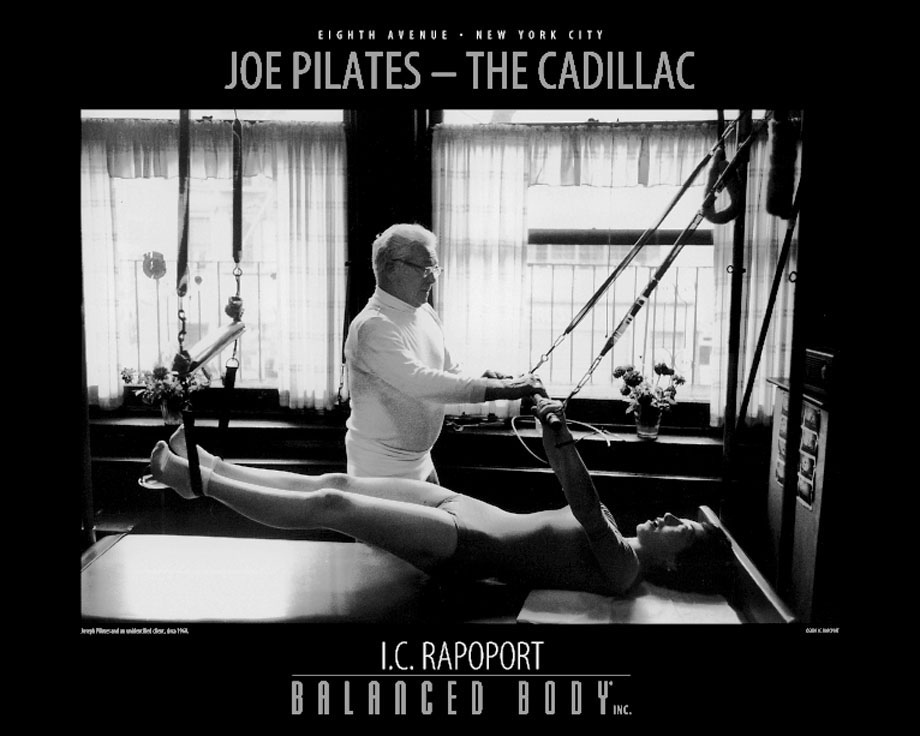 Poster Joe Pilates - Cadillac