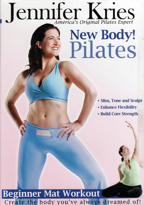 DVD Jennifer Kries New Body! Pilates