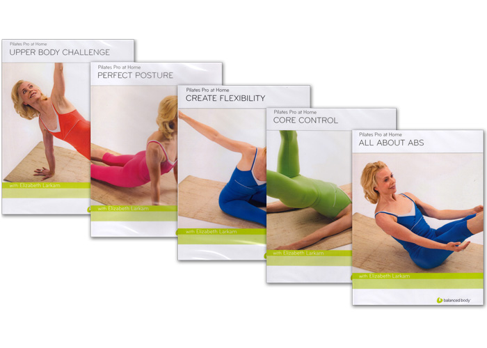 DVD Pilates Pro at Home (Serie Completa)
