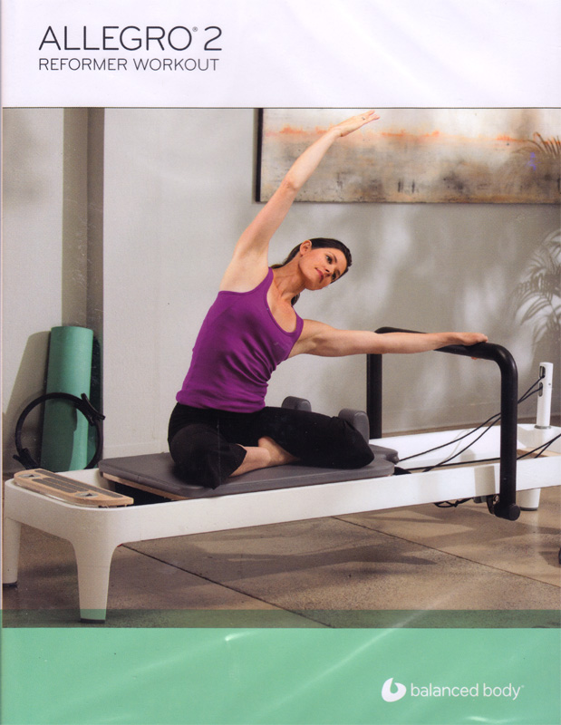 DVD Pilates Allegro 2 Reformer Workout