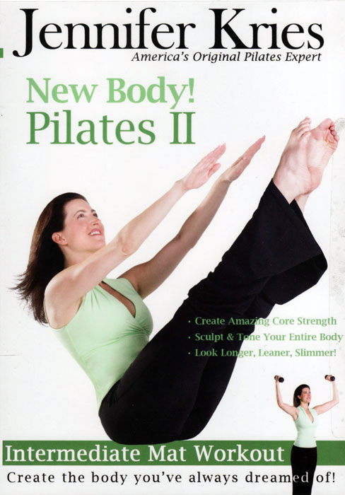 DVD Jennifer Kries New Body! Pilates II