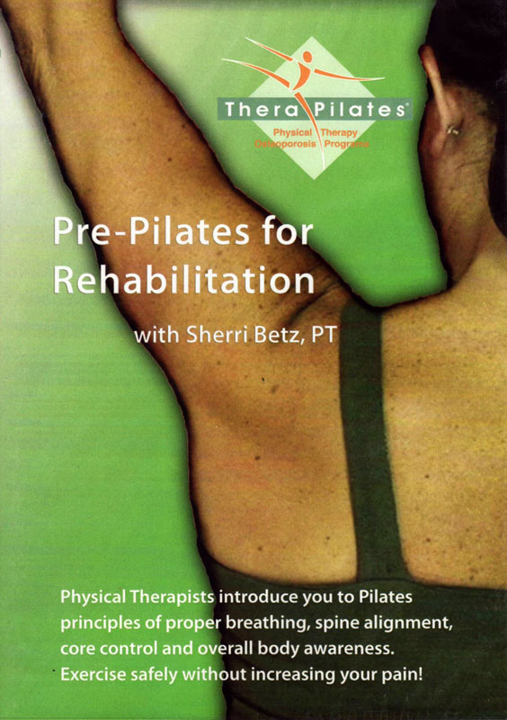 DVD Pre-Pilates for Rehabilitation
