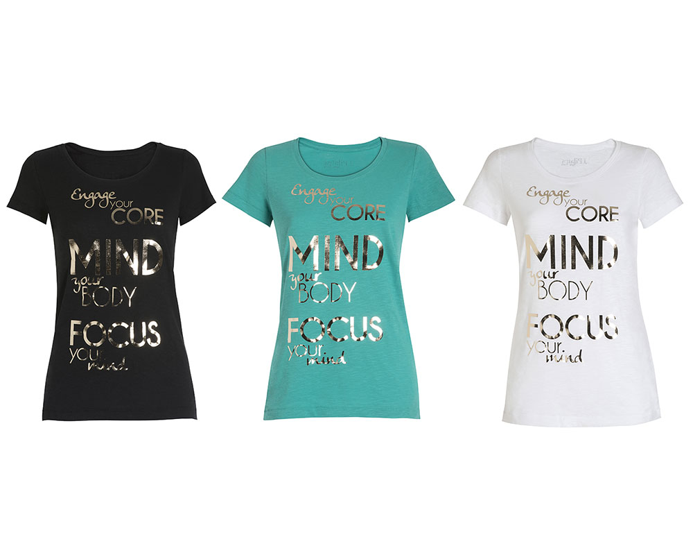 T-Shirt Donna Pilates Focus
