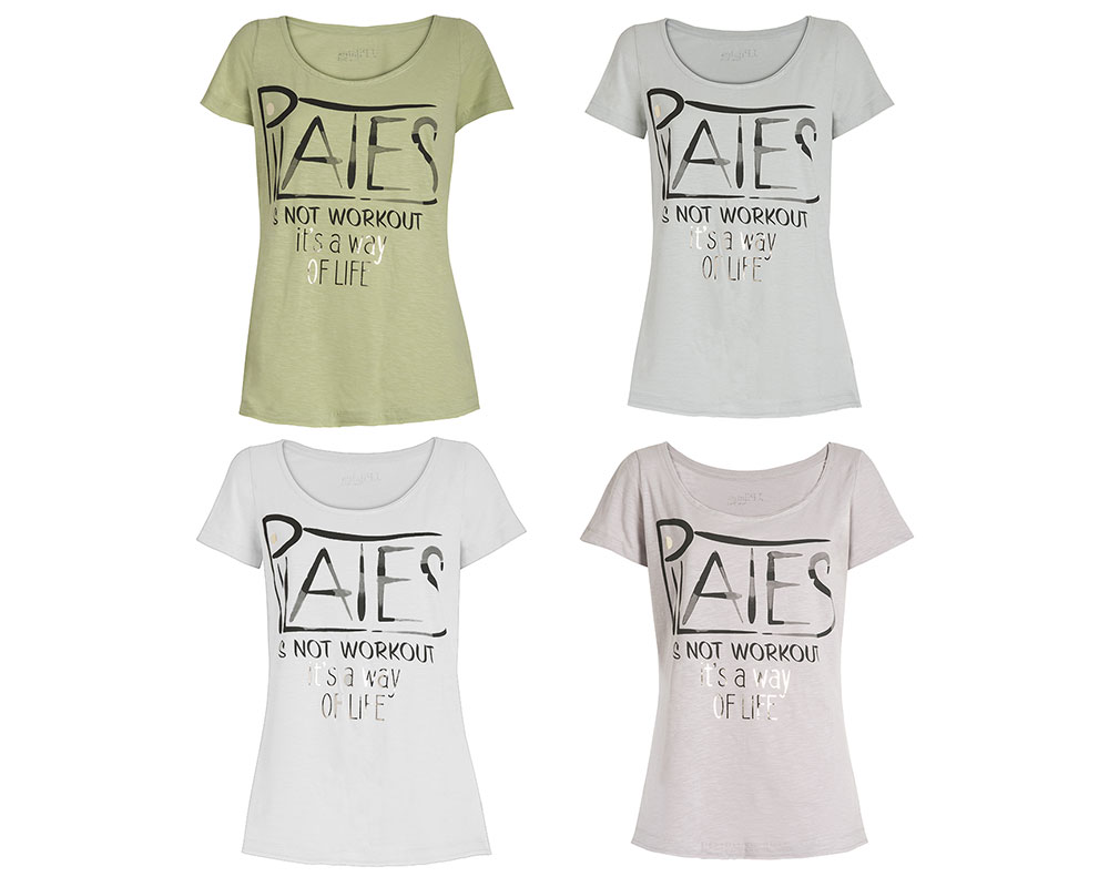 T-Shirt Donna Pilates Way Of Life