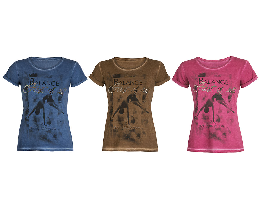 T-Shirt Donna Pilates First
